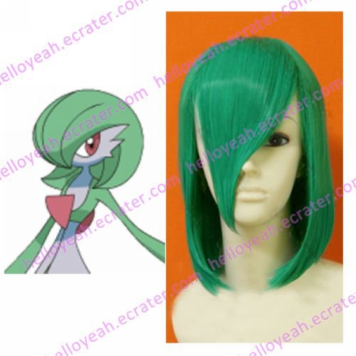 Pokemon Cospaly Gardevoir Custom Made Cosplay Wig