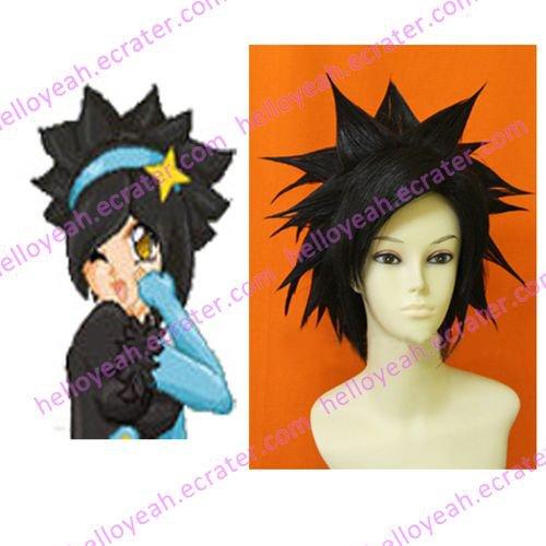 Pokemon Gijinka Cosplay Luxray Custom Made Cosplay Wig