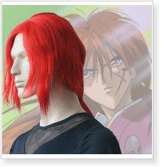 Rurouni Kenshin Himura Cosplay Wig