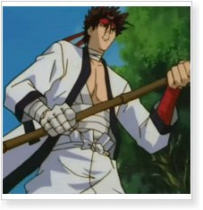 Rurouni Kenshin Sanosuke Sagara Cosplay Wig