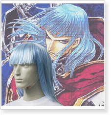 Trinity Blood Brother Petros Cosplay Wig