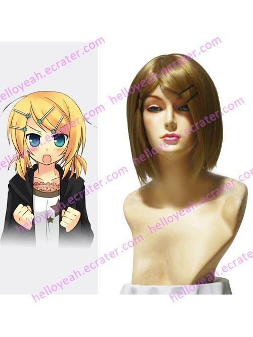 Vocaloid Kagamine Rin 45cm Cosplay Wig