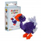 Amazing kit for assembling a modular origami Dodo
