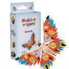 Amazing kit for assembling a modular origami butterfly