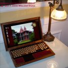 eCog Mercury for Sony VAIO F-Series Laptop,  Steampunk Cover Boilerplate Ed. (Made to order: 6 wks)