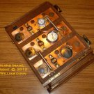 eCog Pluto for Microsoft Surface Tablet: Wooden Steampunk Case w/ Keyboard (Made to Order: 4 wks)