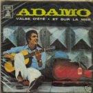 """""""SALVATORE ADAMO IN FRENCH"""" 45 ODEON CHILE 1968 AMAZING"""