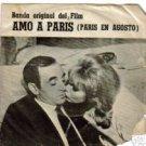 """CHARLES AZNAVOUR """"PARIS AU NOIS D' AOUT"""" 33 SINGLE!!"""