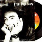 NEIL DIAMOND Front Page Story 45 USA COLUMBIA  1982