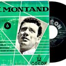 """YVES MONTAND """"Le Musicien"""" 45 EP FRANCE BY ODEON"""