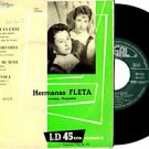 "HERMANAS FLETA ""Cancion de la Calle"" 45 EP SPAIN REGAL"