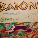 EDMUNDO ROS BAIONS Y SU ORQUESTA LP USA LONDON