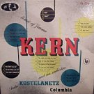 "ANDRE KOSTELANETZ ""MUSIC OF JEROME KERN"" LP USA 1956"