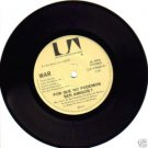 """WAR """"WHY CAN 'T WE BE FRIENDS ?"""" 45 SINGLE CHILE 1975"""