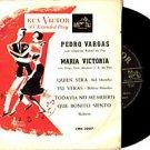 PEDRO VARGAS MARIA VICTORIA 45 EP CHILE RCA VICTOR