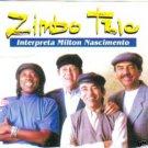 """""""ZIMBO TRIO INTERPRETA MILTON NASCIMENTO"""" CD BRAZIL 95"""