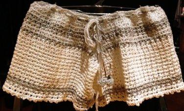 PATTERN - White toddler Shorts