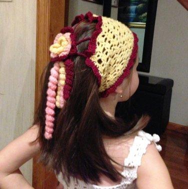 PATTERN - Headband - Bandana for girls