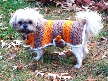 Brown Cape for Dogs