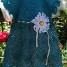 PATTERN - Blue Dress for girls