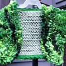 PATTERN - Green Ruffle Top for Girls