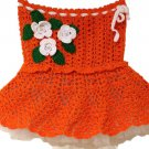 Orange baby Lace Skirt