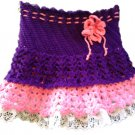 PATTERN - Purple baby Skirt