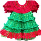 PATTERN - Christmas baby Dress