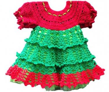 PATTERN - Christmas baby Dress