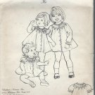 Vintage The Children's Corner Pattern Ki Pattern Size 5-6