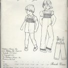 Vintage The Children's Corner Pattern  Jack and Jill Size 6