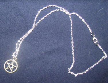 Pentacle with Chain