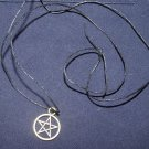 Pentacle on Hemp Cord