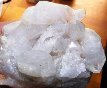 Crystal Quartz Cluster With Matrix