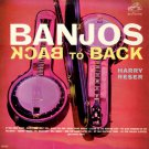 HARRY RESER - Banjos Back to Back - 1962 LP (RCA Victor - LPM-2515)