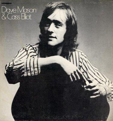 DAVE MASON & CASS ELLIOT - 1971 LP (ABC/Dunhill - DFSL-10001)