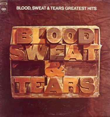 BLOOD, SWEAT & TEARS - Greatest Hits - 1972 LP (Columbia - PC 31170)