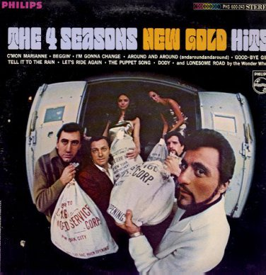THE 4 SEASONS - New Gold Hits - 1967 LP (Phillips - PHS 600-243)