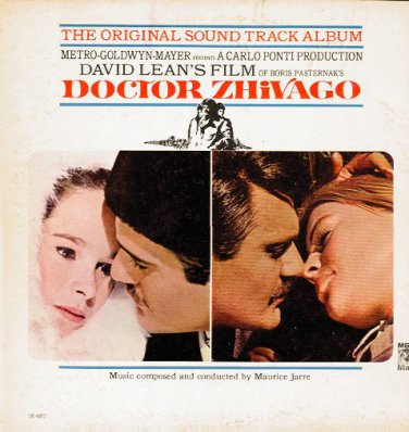 DOCTOR ZHIVAGO - Original Soundtrack Album - 1966 LP (MGM Records - 1E-6ST)