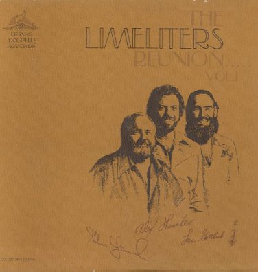 THE LIMELITERS - Limeliters Reunion - 1976 2-LP Set (Brass Dolphin - BDR 2201/2)