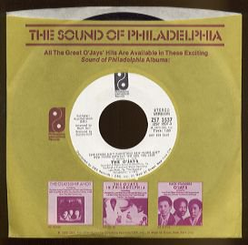THE O'JAYS - Christmas Ain't Christmas New Years Ain't New Years... - 45rpm Record (DEMO)