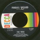 THE WHO - Pinball Wizard / Dogs Part Two - 45rpm Record