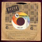 BOOTS RANDOLPH - Yakety Sax / I Really Don't Want To Know (Monument #45-804) - 45rpm Record