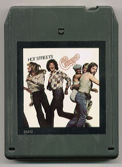 CHICAGO - Hot Streets - 8-track tape - 1978 (CBS Inc. - FCA 35512)