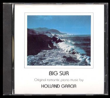 HOLLAND GARCIA - Big Sur - 1990 CD - New Romanticism Productions (53009)