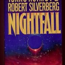 NIGHTFALL by Isaac Asimov & Robert Silverberg - 1990 (Hardcover)