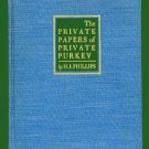 PRIVATE PAPERS OF PRIVATE PURKEY by Phillips (w/ drawings by Alan Dunn) - 1941