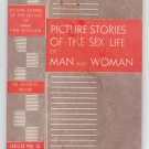 "1946 Booklet - ""Picture Stories of the Sex Life of Man and Woman"" by Dr. Keller"