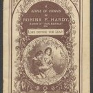 "Victorian ROBINA F. HARDY Story Booklet - ""Do the Right"" Stories - ""Look Before You Leap"""
