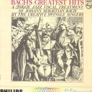 THE SWINGLE SINGERS - Bach's Greatest Hits - 1973 LP (Philips - PHM 200-097)